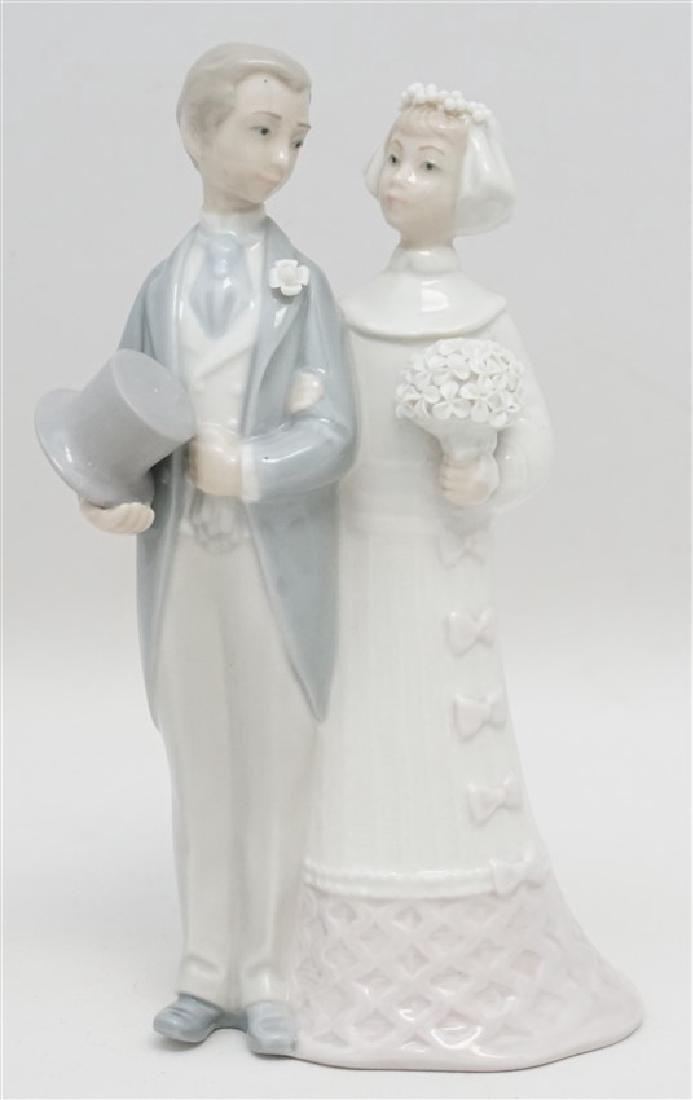 LLADRO WEDDING PORCELAIN FIGURINE