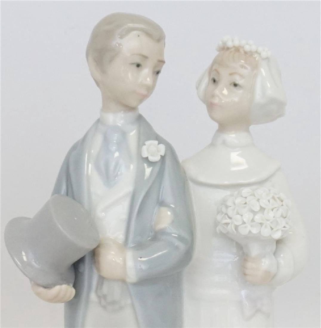 LLADRO WEDDING PORCELAIN FIGURINE - 2