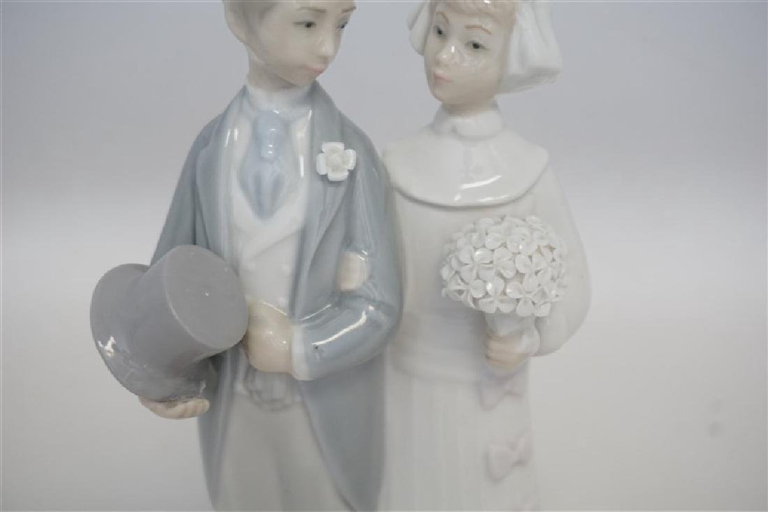 LLADRO WEDDING PORCELAIN FIGURINE - 4