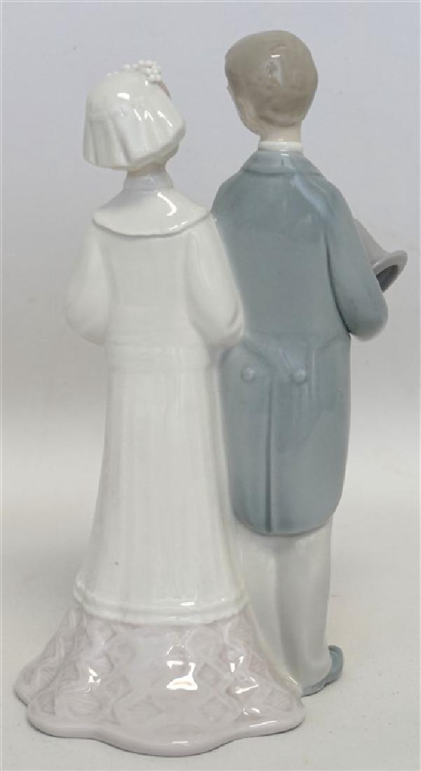 LLADRO WEDDING PORCELAIN FIGURINE - 6