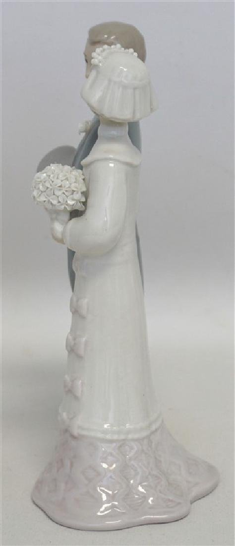 LLADRO WEDDING PORCELAIN FIGURINE - 8