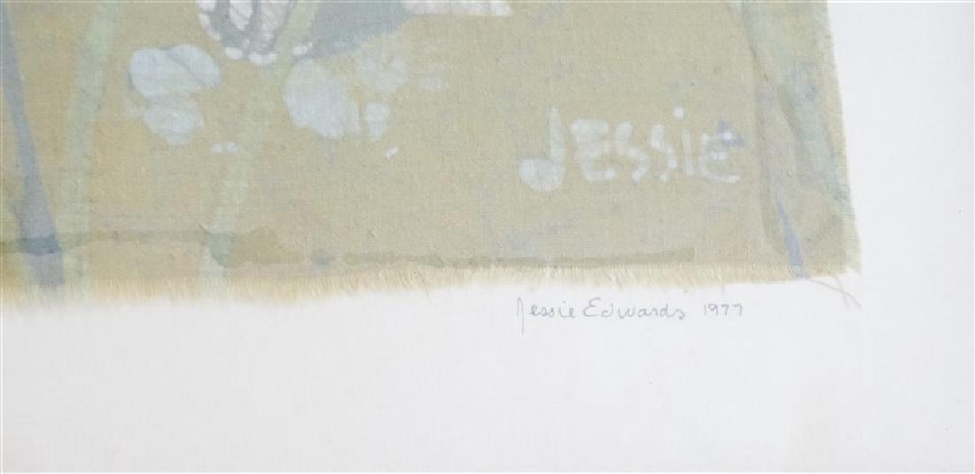 JESSIE EDWARDS 1977 ORIGINAL BATIK - 6