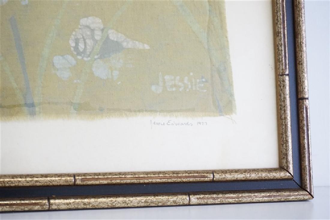 JESSIE EDWARDS 1977 ORIGINAL BATIK - 7