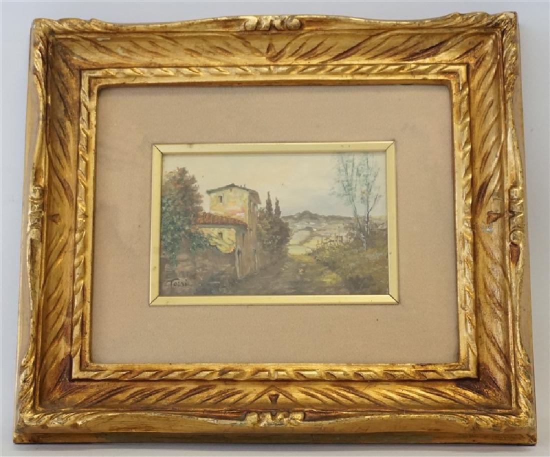 LUCIANO TORSI (b.1939) ITALIAN LANDSCAPE