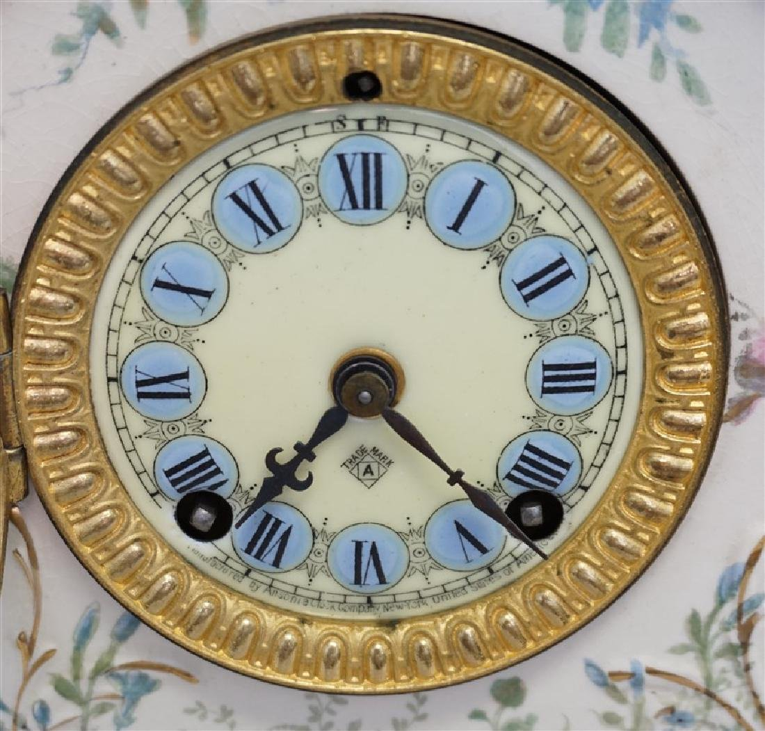 ANSONIA ROYAL BONN LA RODA CLOCK - 12