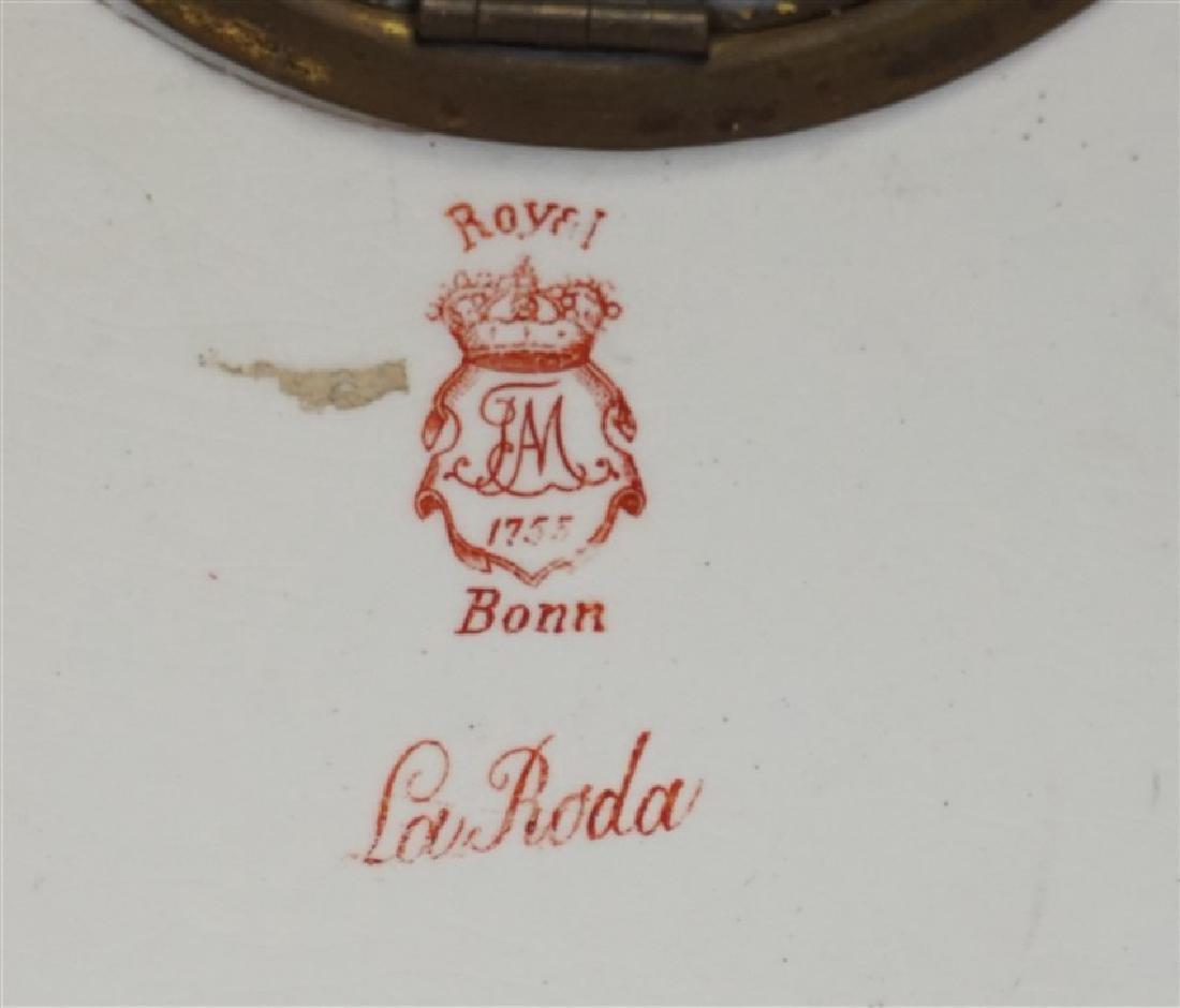 ANSONIA ROYAL BONN LA RODA CLOCK - 6