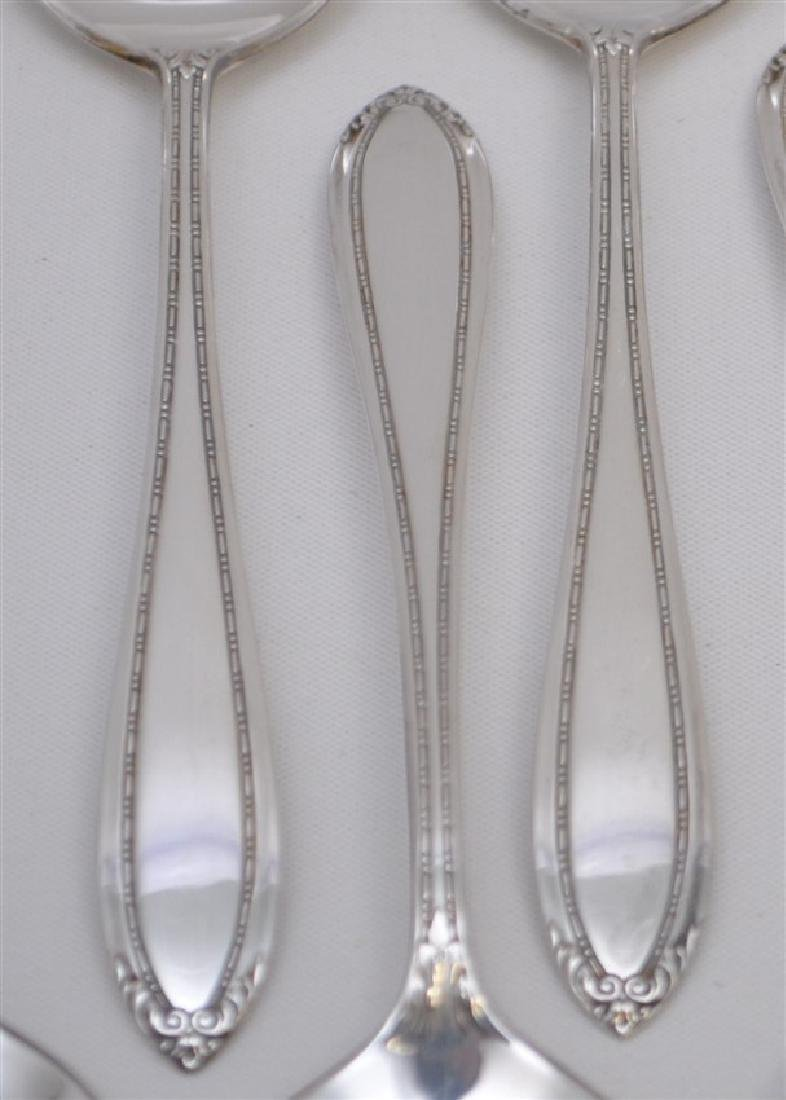 12 STERLING SILVER BOUILLON SPOONS - LADY BETTY - 2