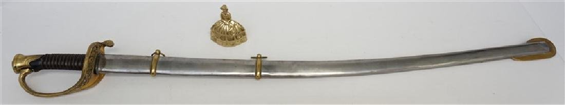 FOOT OFFICER SWORD IN METAL SHEATH - 11