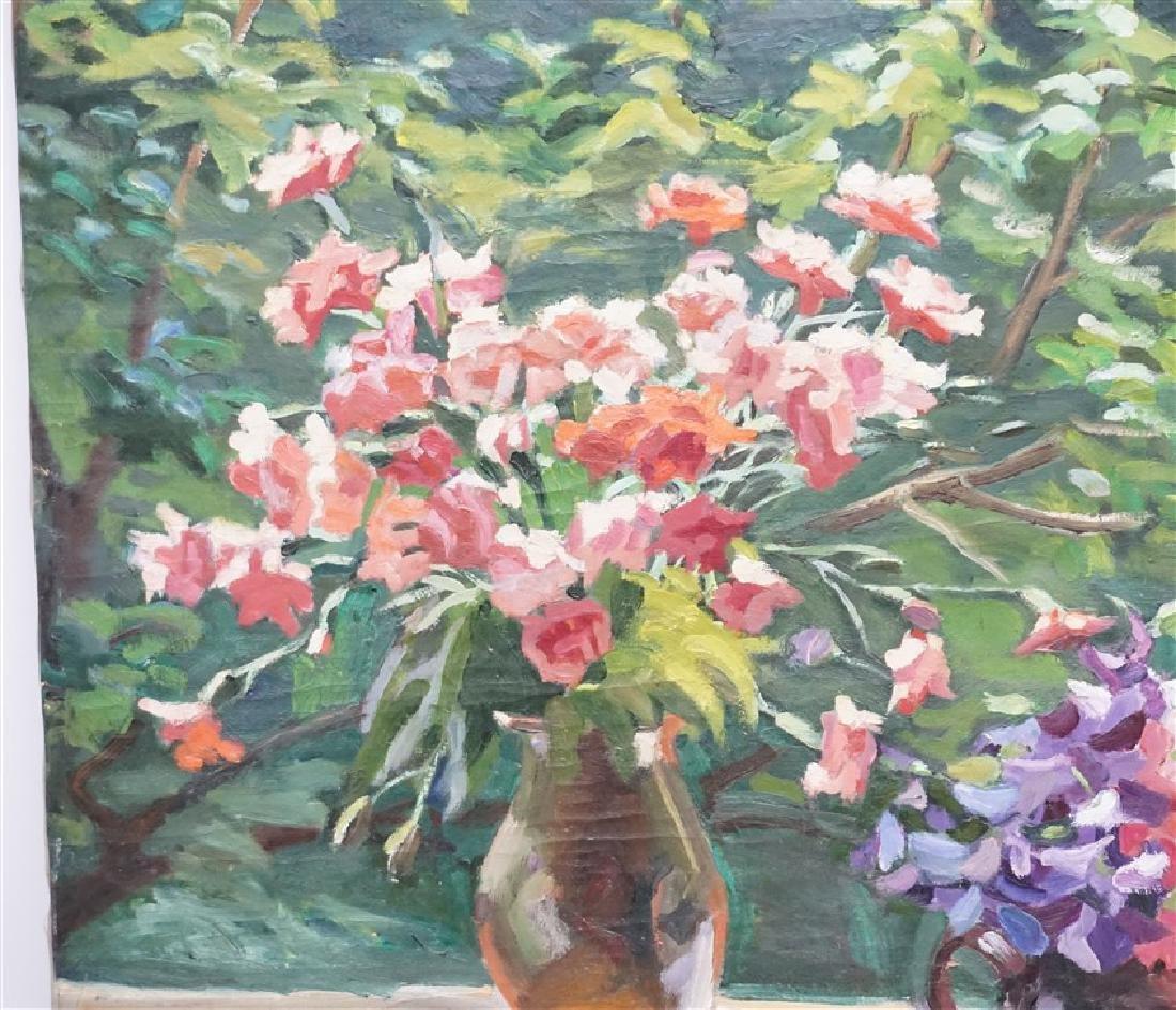 GASPAR ANNI FELEKINE (1902-1992) OIL STILL LIFE - 2