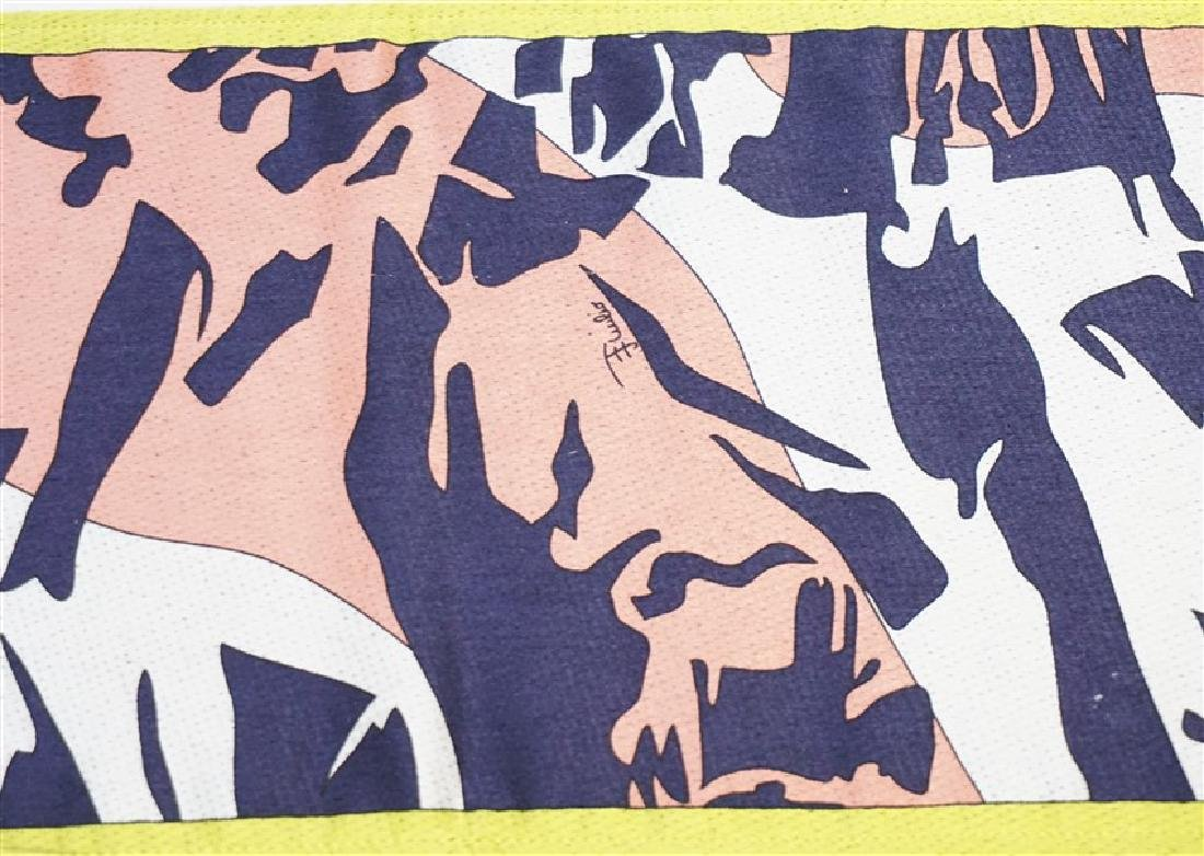 BURBERRY & PUCCI SILK & CASHMERE SCARVES - 8