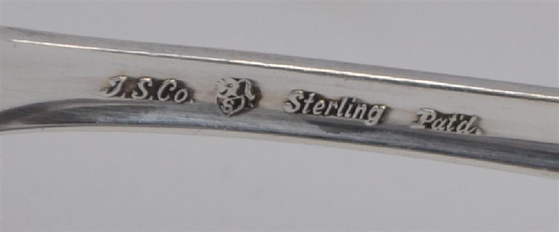 5 STERLING SILVER SPOONS - LADY BETTY - 6