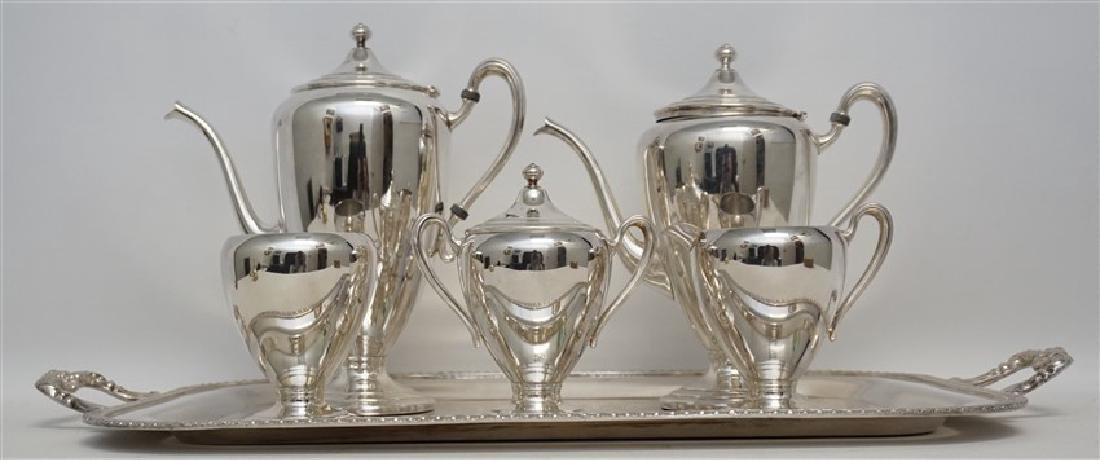 6 pc AMERICAN TEA & COFFEE SERVICE