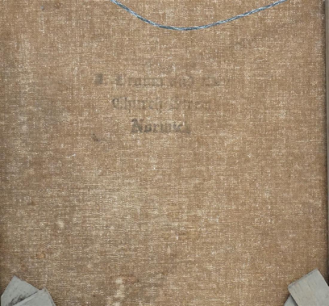 EDGAR HUNT (1876-1955) BARNYARD CHICKENS - 9