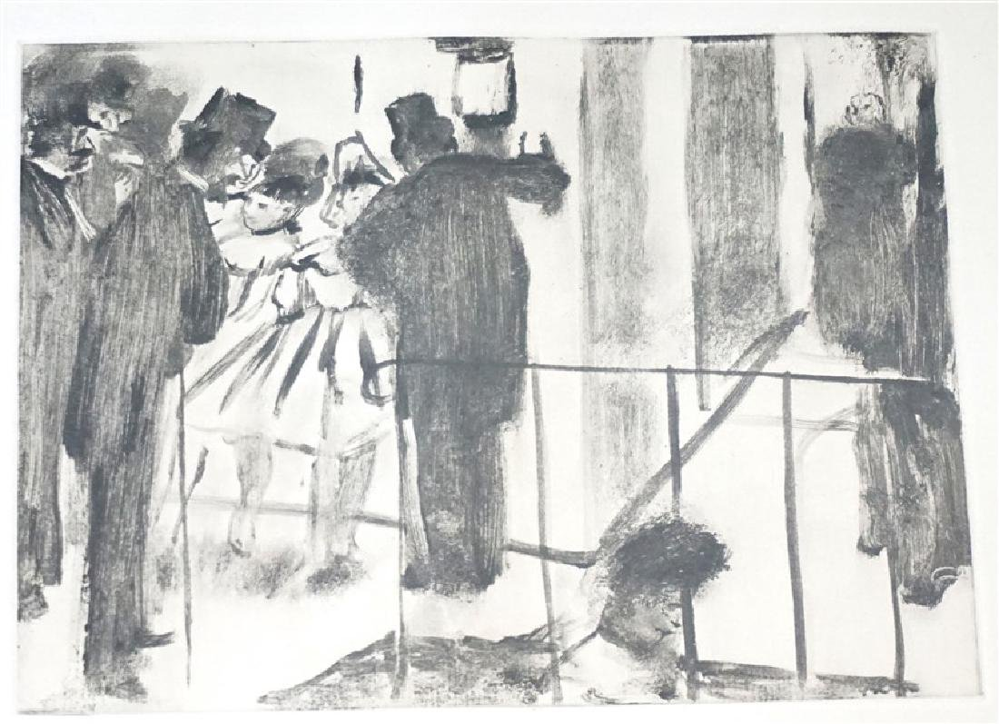 EDGAR DEGAS (1834-1937) ETCHING 1938