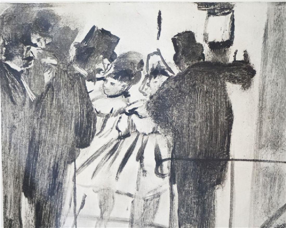 EDGAR DEGAS (1834-1937) ETCHING 1938 - 4