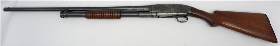 1916 WINCHESTER PUMP SLIDE ACTION SHOTGUN - 10
