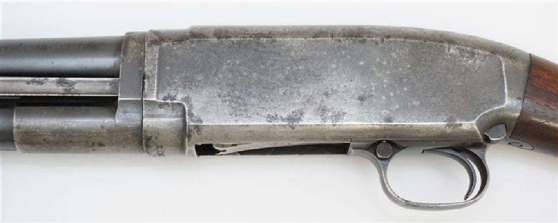 1916 WINCHESTER PUMP SLIDE ACTION SHOTGUN - 11