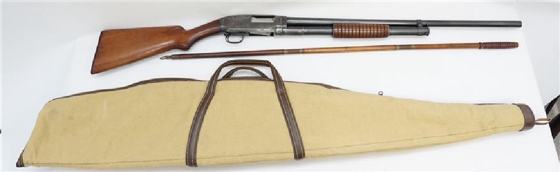1916 WINCHESTER PUMP SLIDE ACTION SHOTGUN - 2