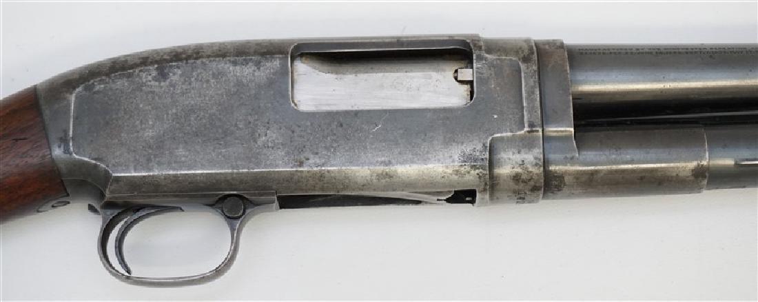 1916 WINCHESTER PUMP SLIDE ACTION SHOTGUN - 5