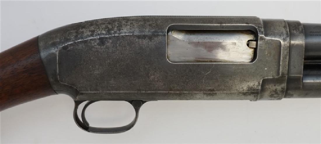 1916 WINCHESTER PUMP SLIDE ACTION SHOTGUN - 8