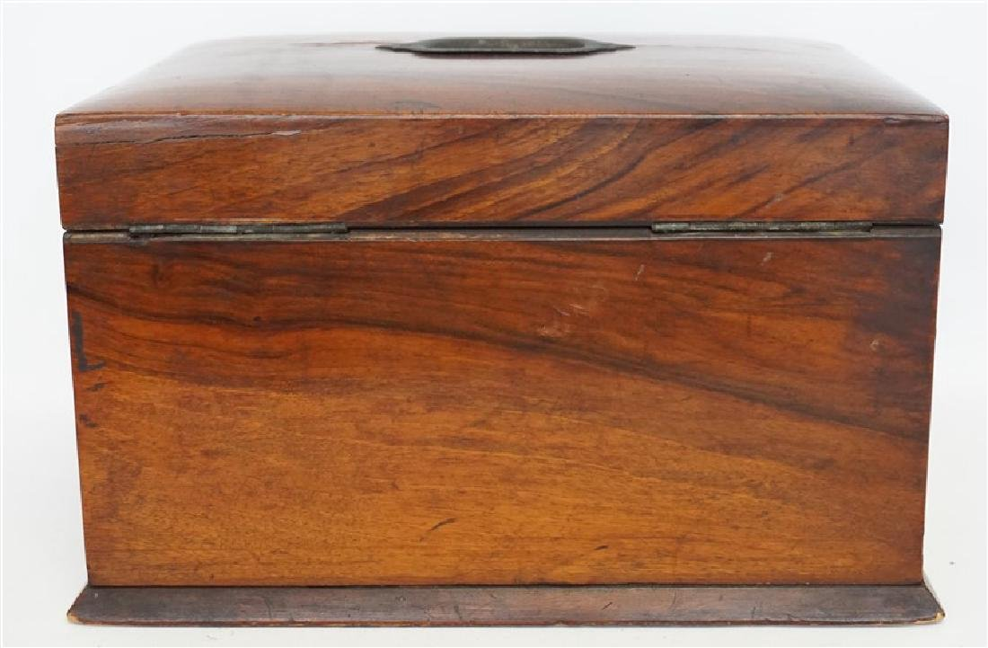 ENGLISH VICTORIAN WOOD JEWELRY BOX - 11