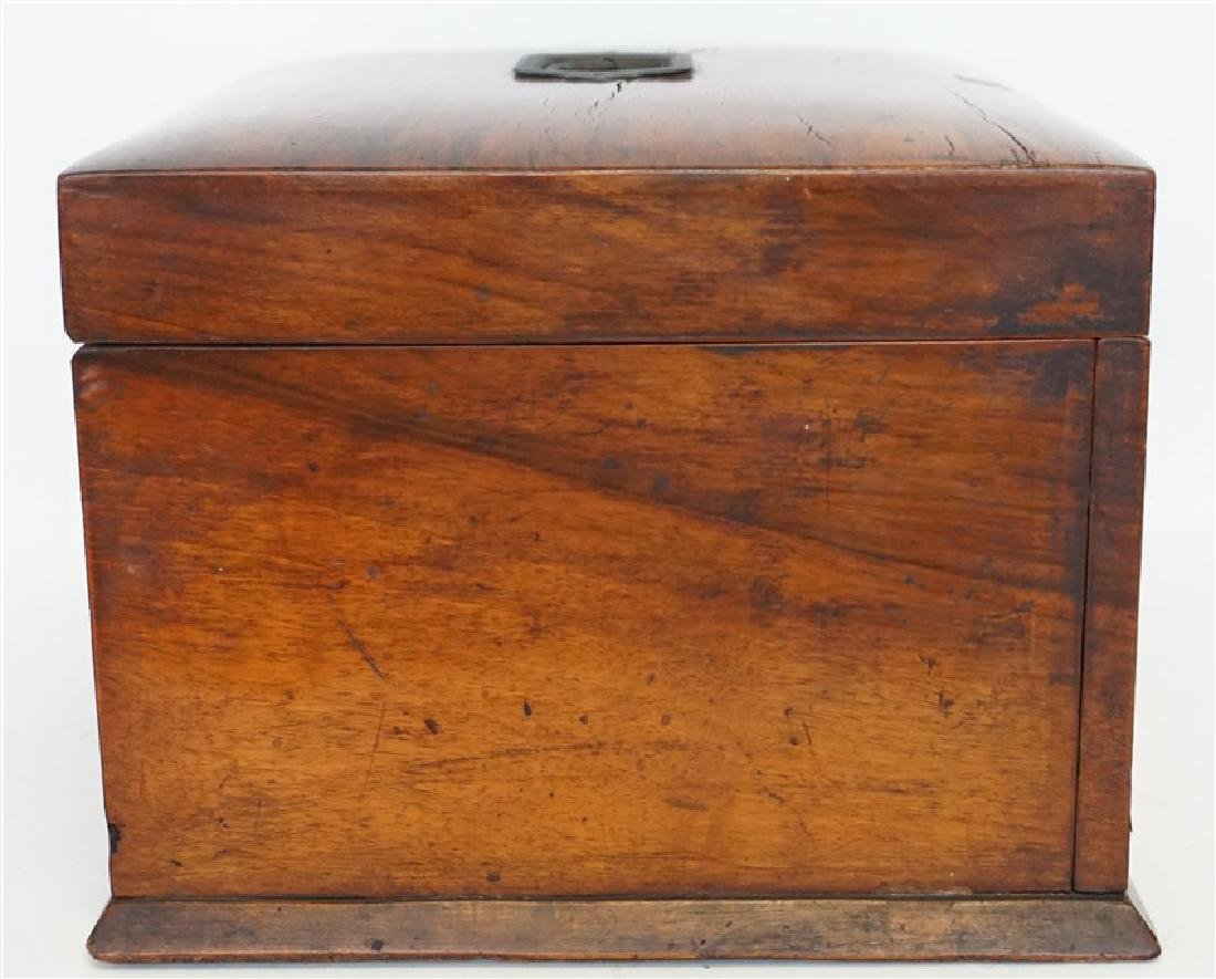 ENGLISH VICTORIAN WOOD JEWELRY BOX - 12