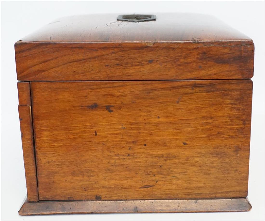 ENGLISH VICTORIAN WOOD JEWELRY BOX - 9