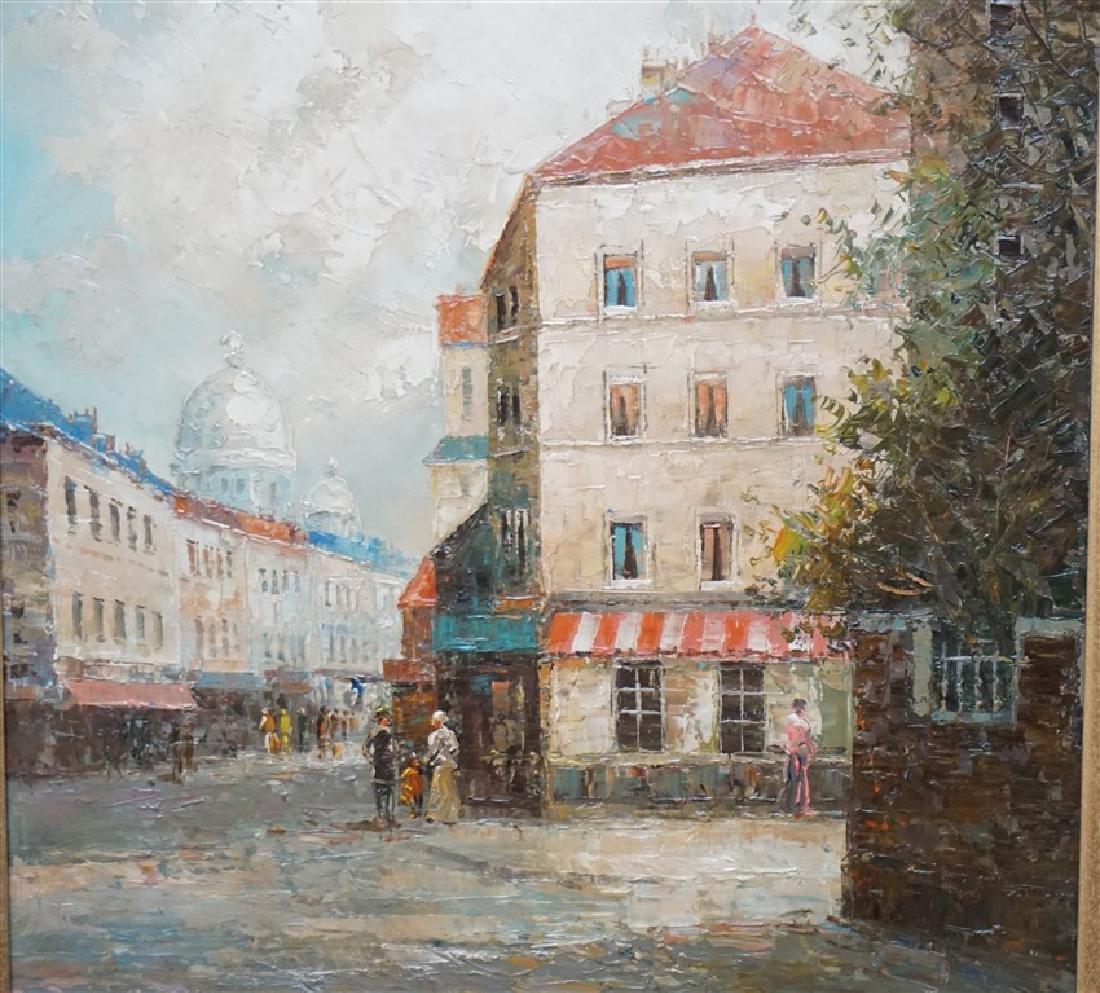 T E PENCKE (b. 1929) PARIS STREET OIL - 3