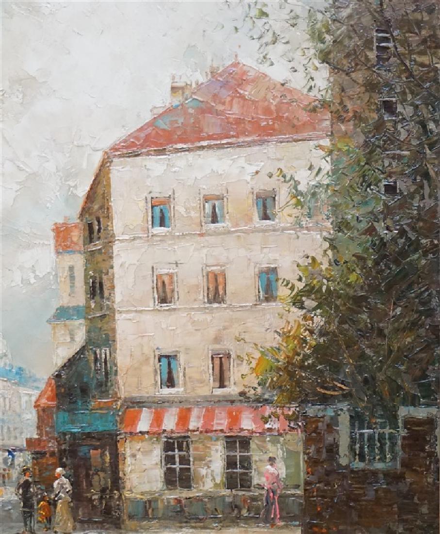 T E PENCKE (b. 1929) PARIS STREET OIL - 7