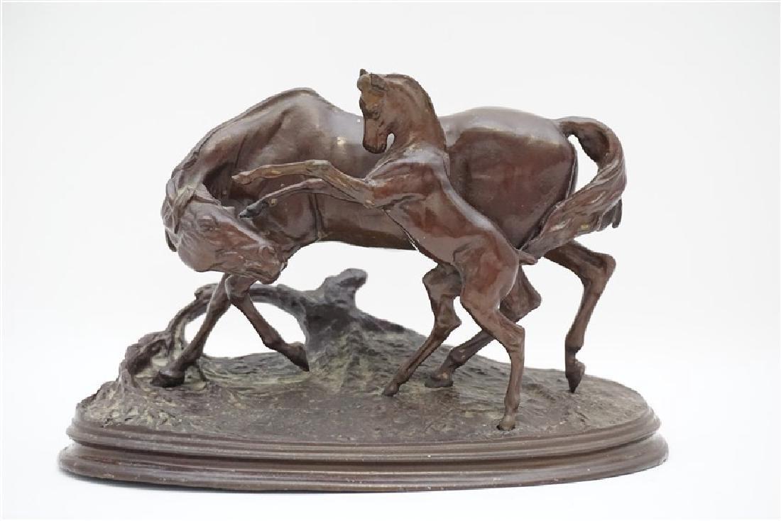 PIERRE-JULES MENE (FRENCH, 1810-1879) BRONZE - 2