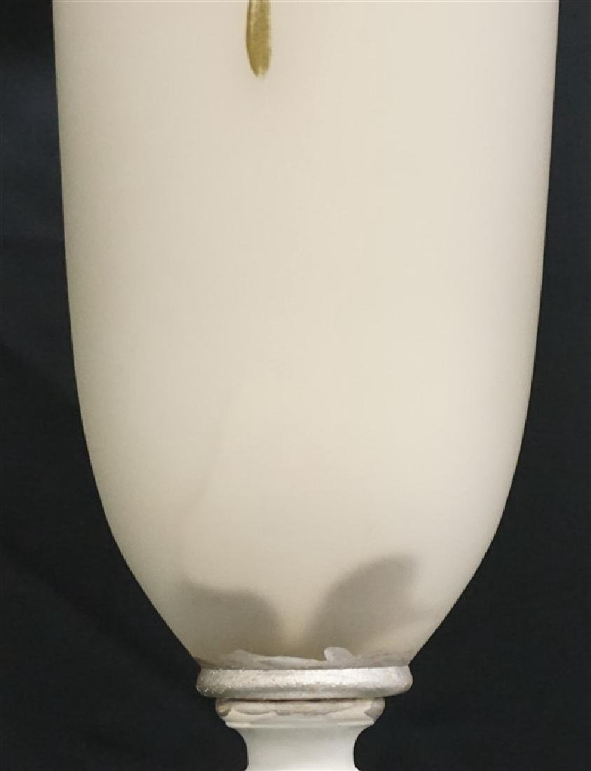AMERICAN GLASS & MARBLE TABLE LAMP - 7