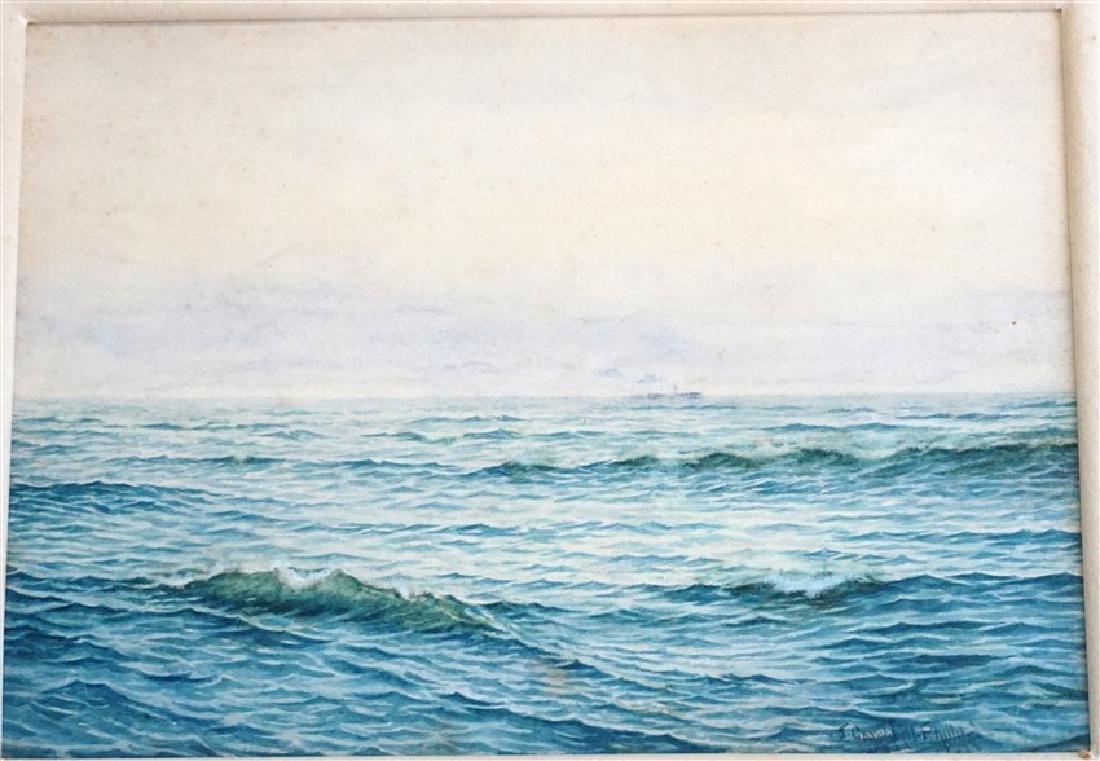JOHN CAMPBELL PHILLIPS (1873-1949) WATERCOLOR