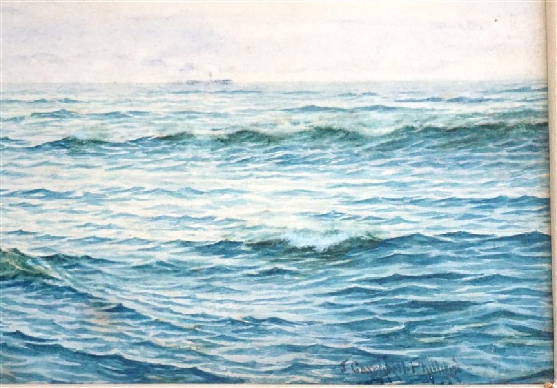 JOHN CAMPBELL PHILLIPS (1873-1949) WATERCOLOR - 4