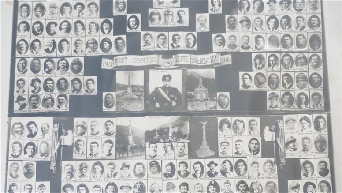 ORIGINAL 1918 ITALIAN MEMORIAL PONTE NELLE ALPI - 4