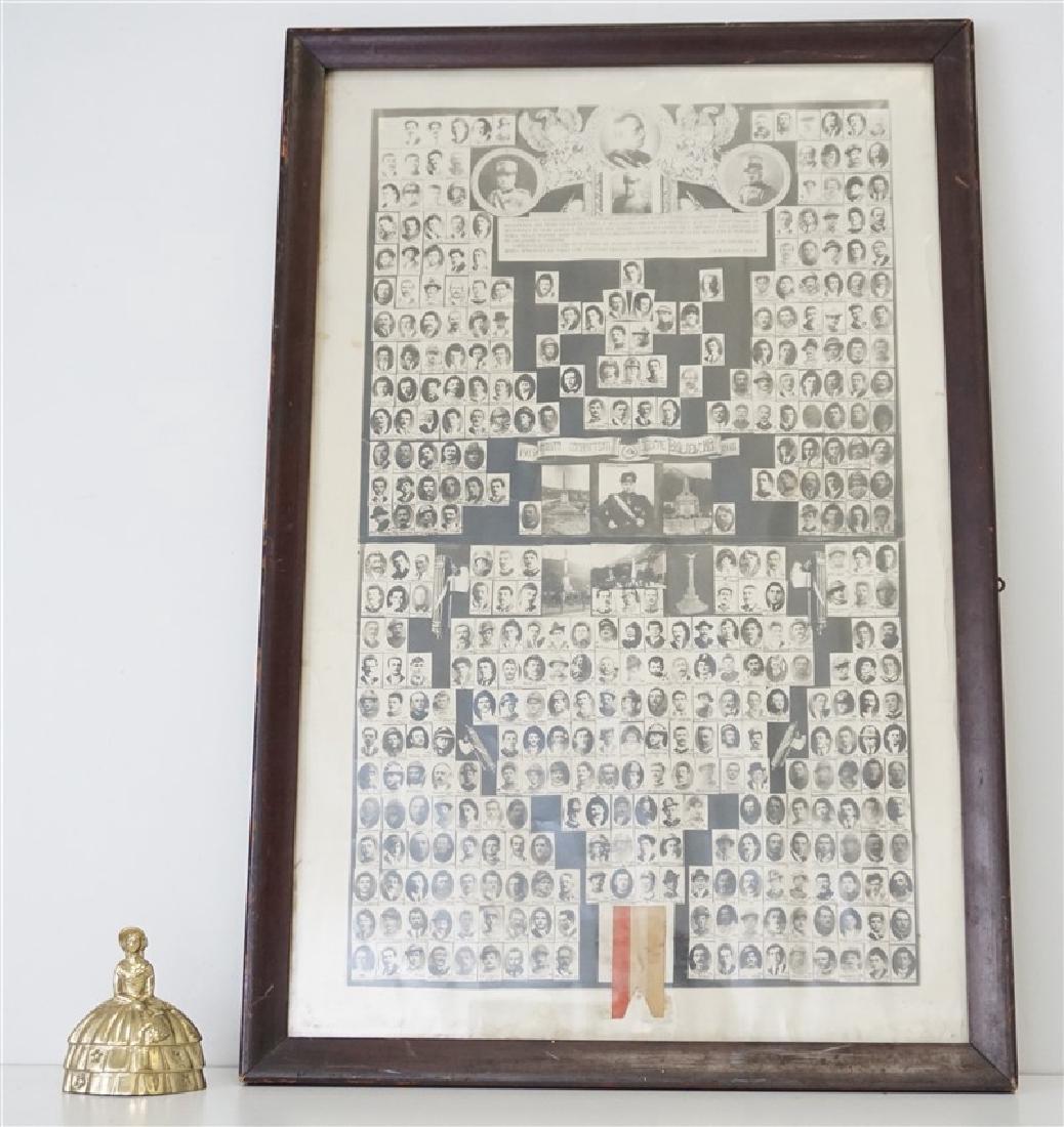 ORIGINAL 1918 ITALIAN MEMORIAL PONTE NELLE ALPI - 9