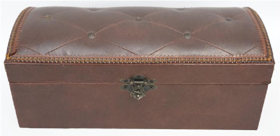 MAITLAND SMITH LEATHER BOX - 10