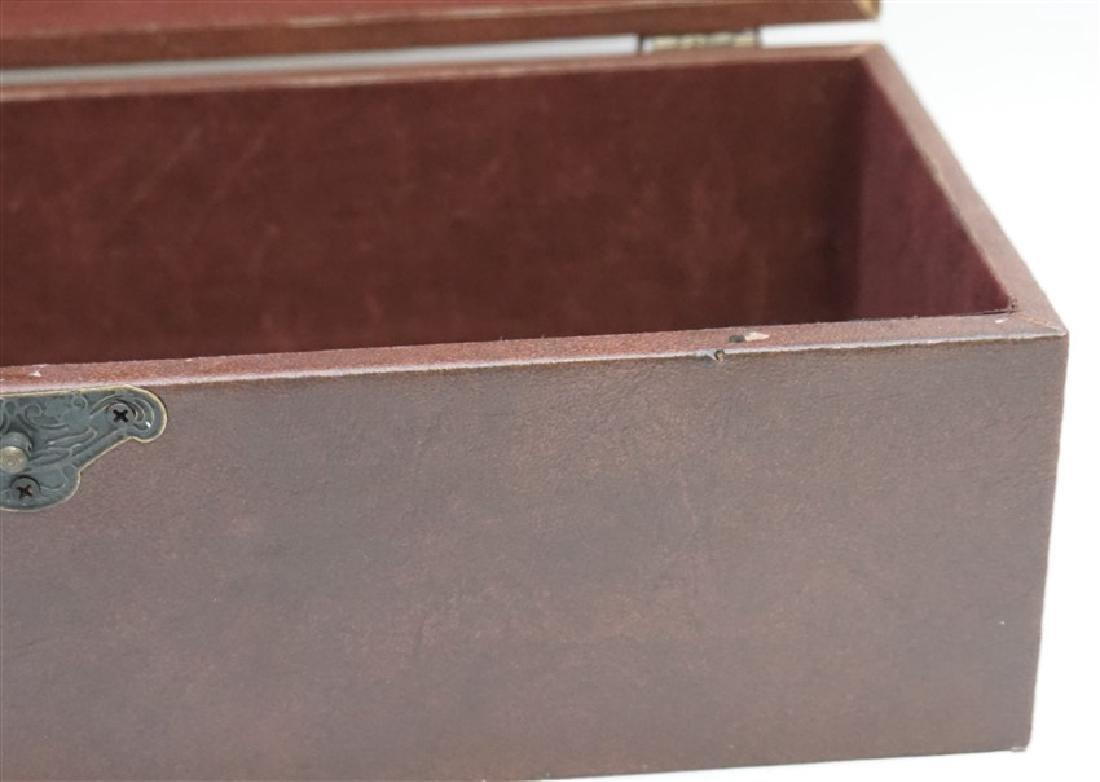 MAITLAND SMITH LEATHER BOX - 5
