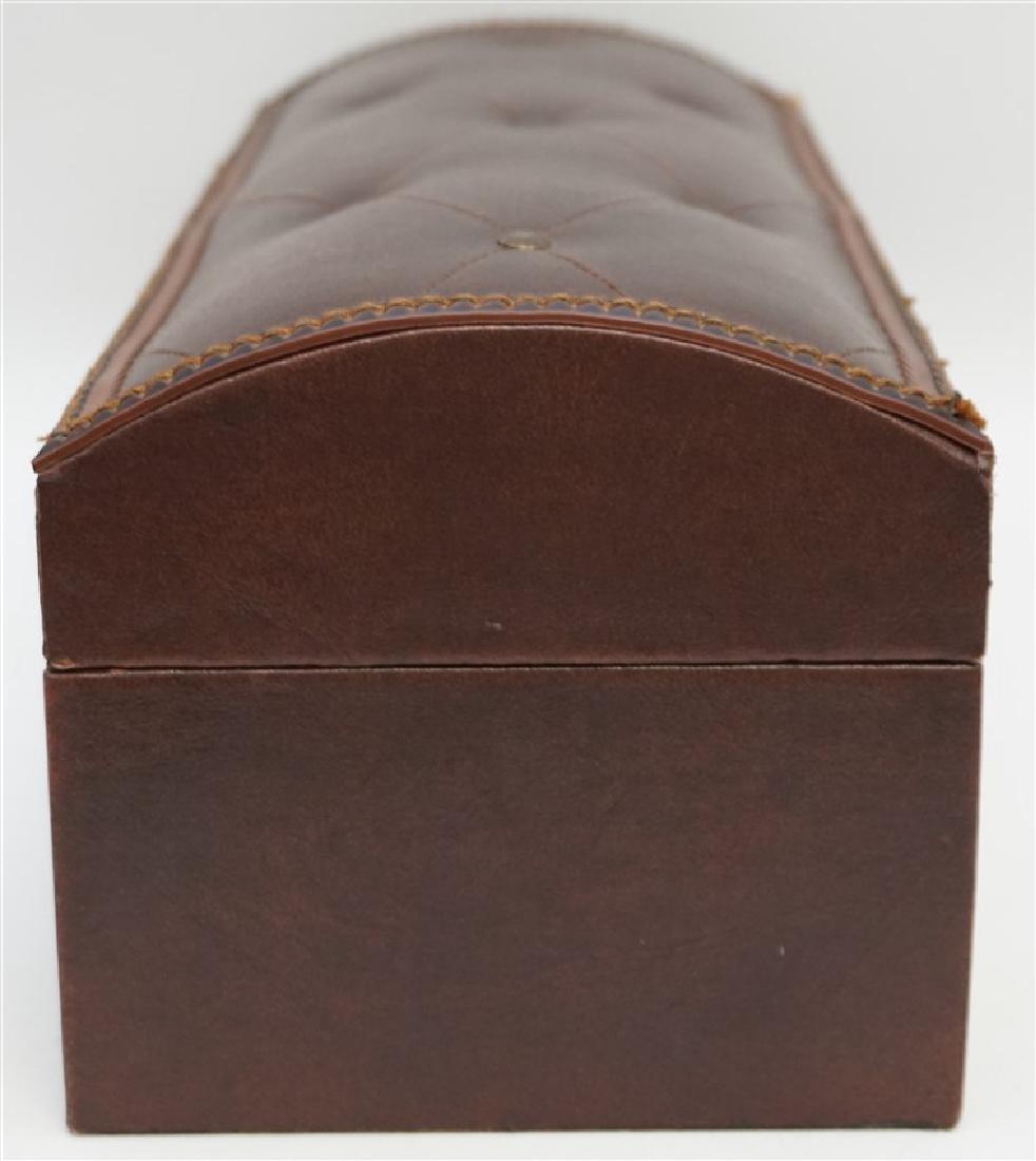 MAITLAND SMITH LEATHER BOX - 6