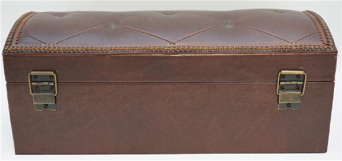 MAITLAND SMITH LEATHER BOX - 7