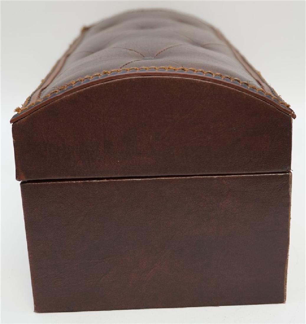 MAITLAND SMITH LEATHER BOX - 8
