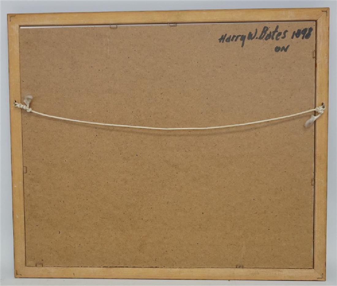 19th c. HENRY BATES WATERCOLOR LANDSCAPE - 6