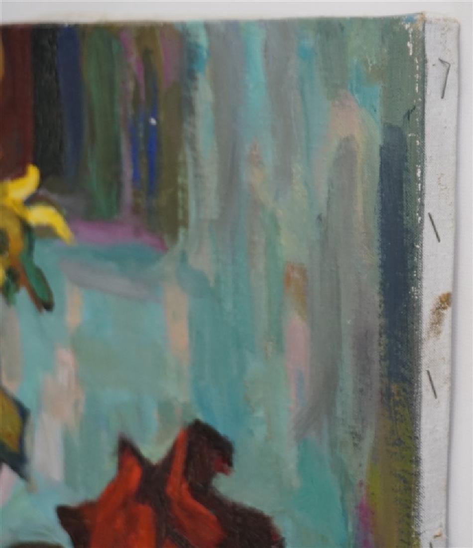 GASPAR ANNI FELEKINE (1902-1992) OIL STILL LIFE - 11
