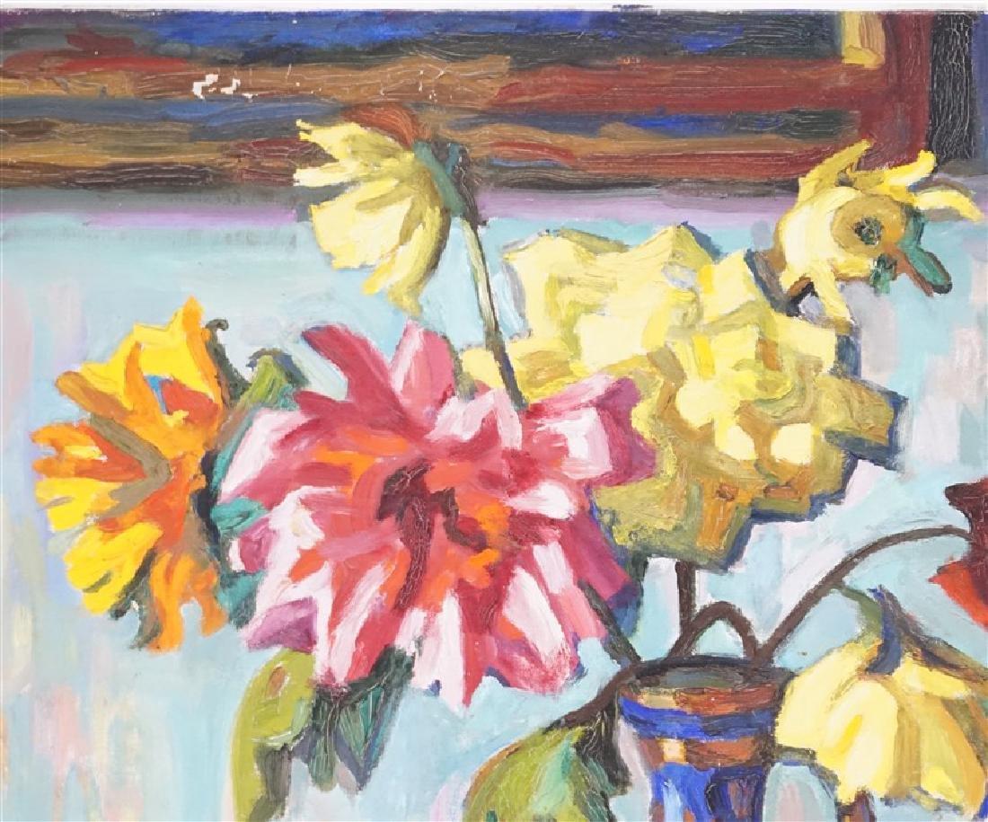 GASPAR ANNI FELEKINE (1902-1992) OIL STILL LIFE - 5