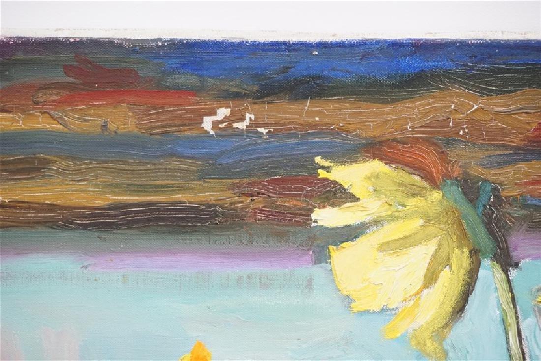 GASPAR ANNI FELEKINE (1902-1992) OIL STILL LIFE - 7