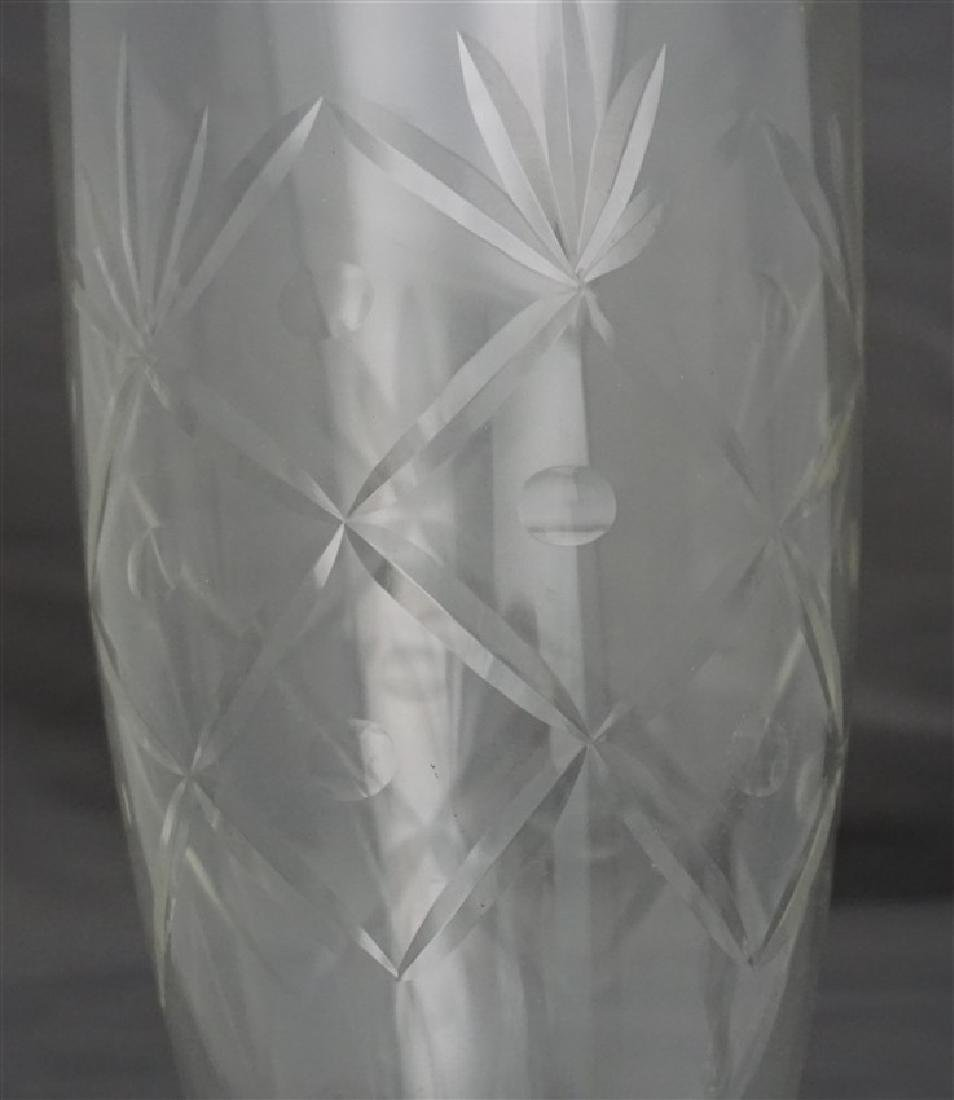 STERLING SILVER HURRICANE LAMP - 8