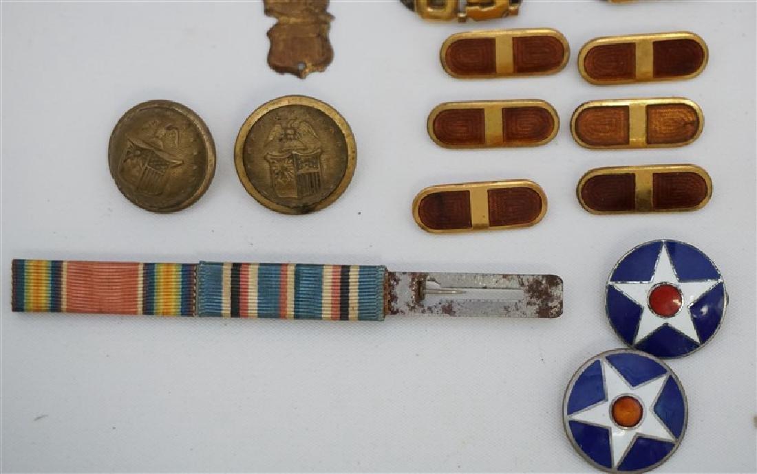 25 pc CIVIL WAR - WWI -WWII MILITARIA COLLECTIBLES - 5
