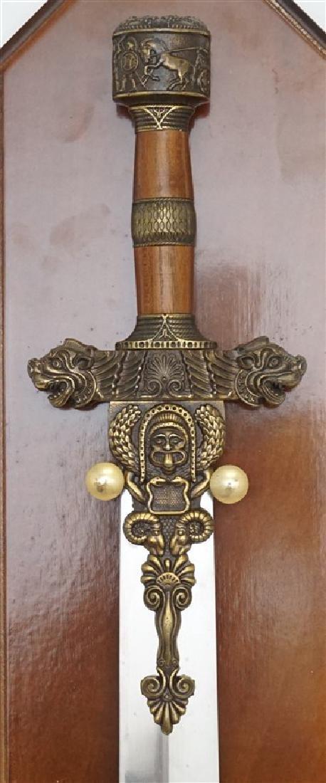 MADE IN SPAIN PERSIAN CEREMONIAL SWORD - 2