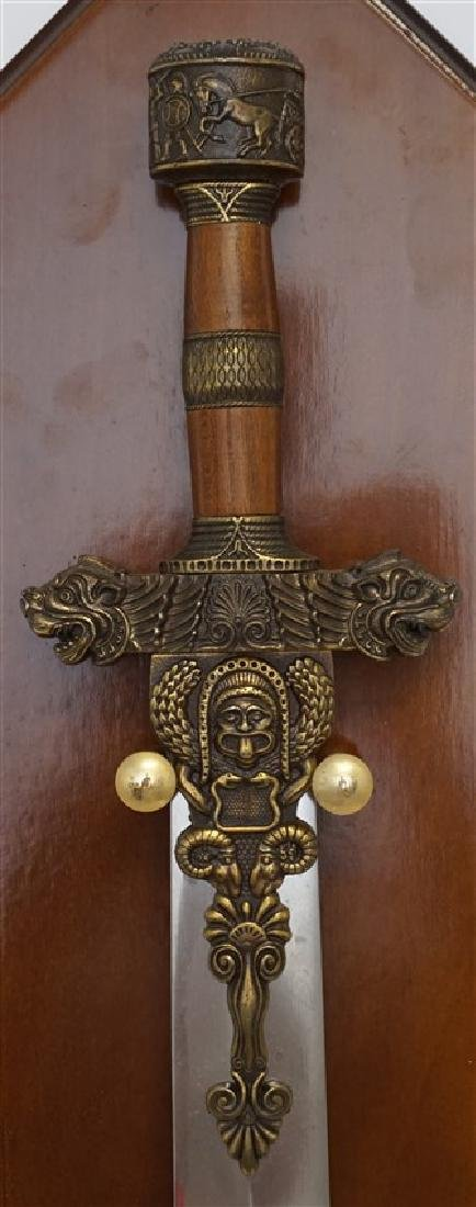MADE IN SPAIN PERSIAN CEREMONIAL SWORD - 4