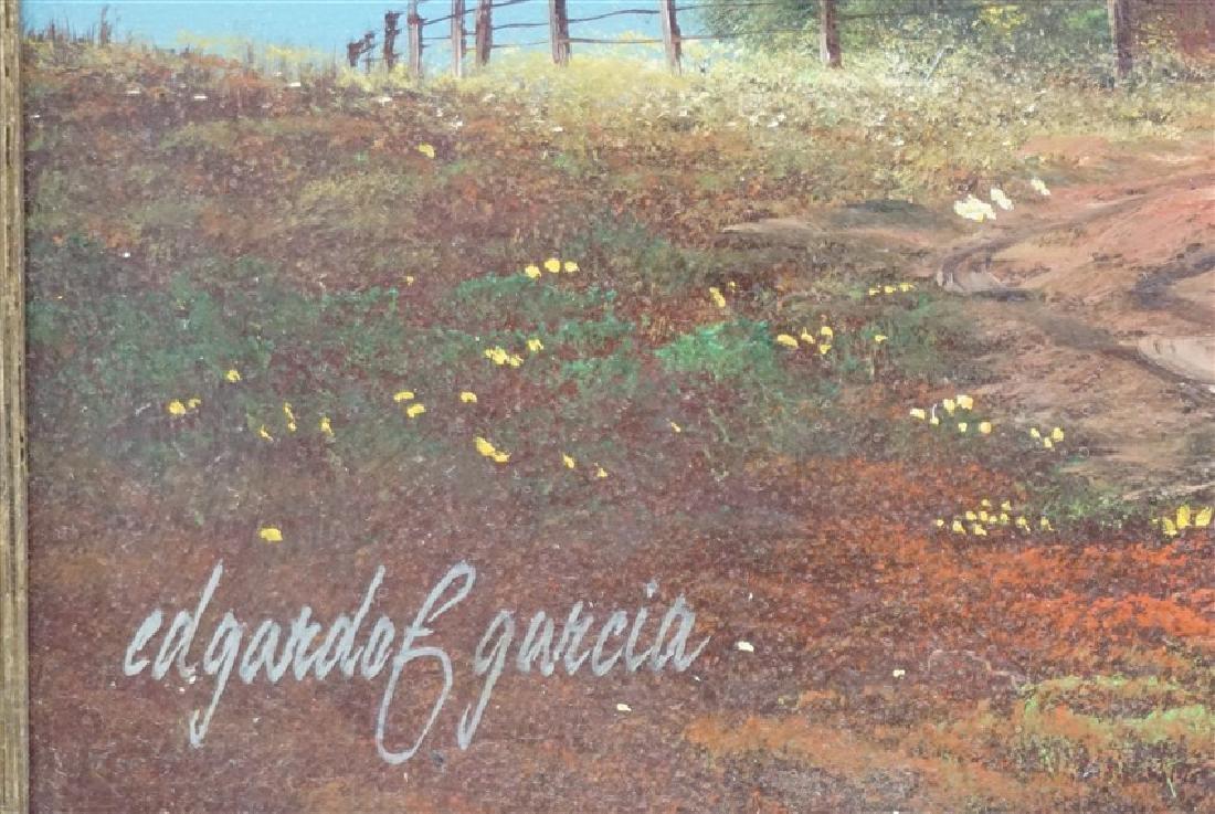 EDGARDO F. GARCIA OIL ON BOARD - 4