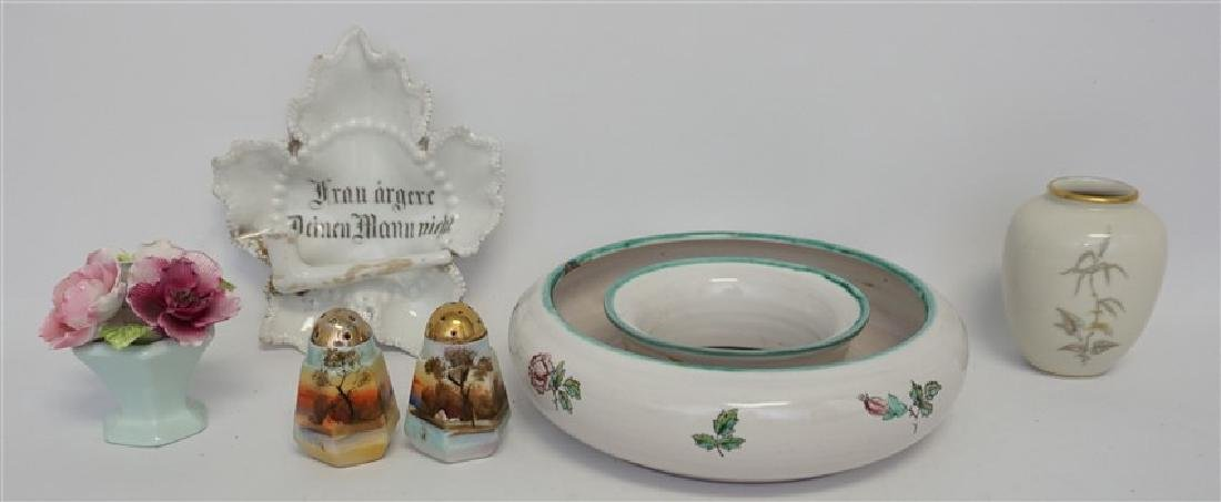 5 pc VINTAGE PORCELAIN AUSTRIA + GERMANY +